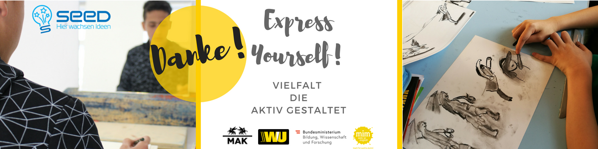 Express Yourself! Danke Banner (1)